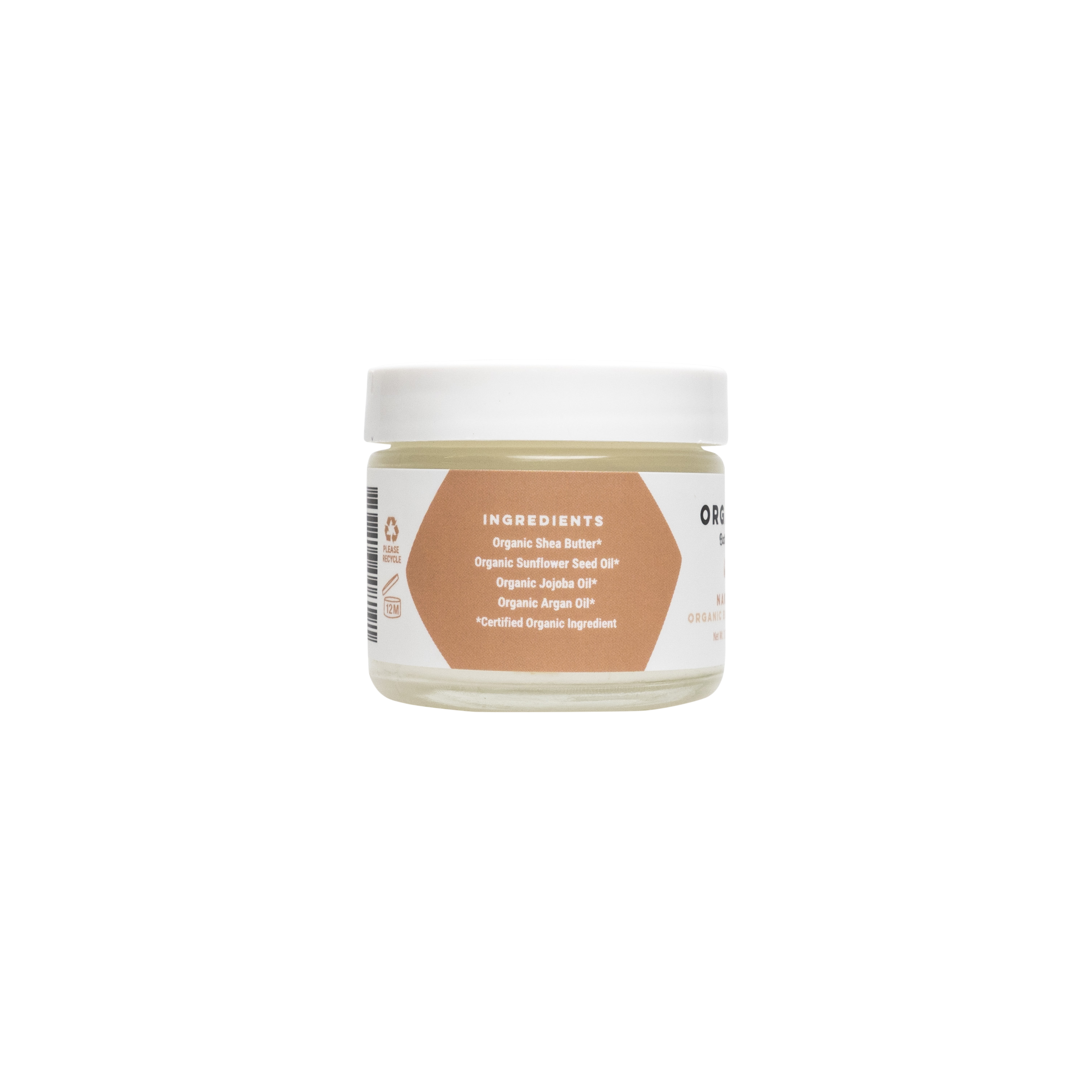 Naked Organic Body Butter Travel Size